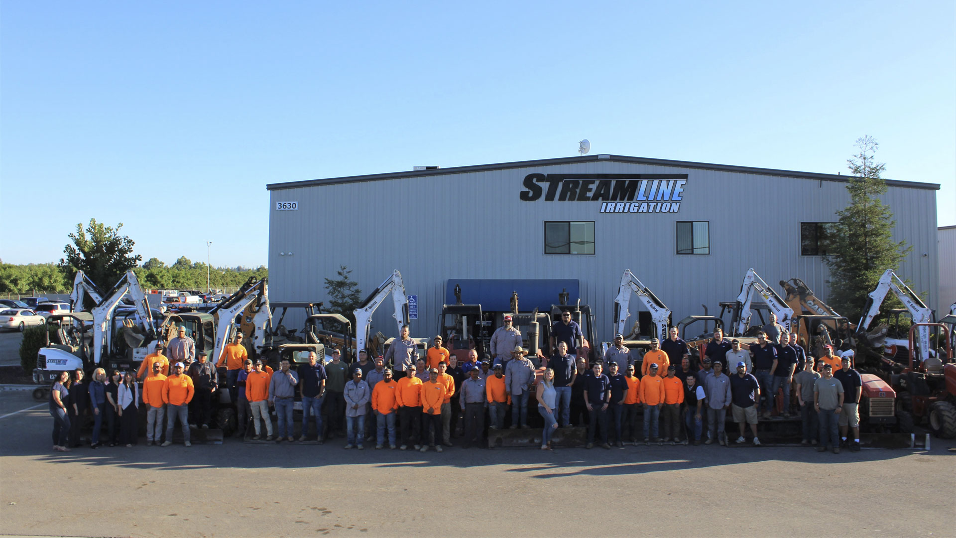 Streamline Irrigation Group Photo