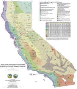 CIMIS ETo Zones Map